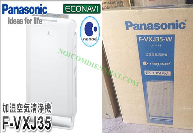 Máy lọc không khí tạo ẩm Nhật Panasonic F-VXJ35-w