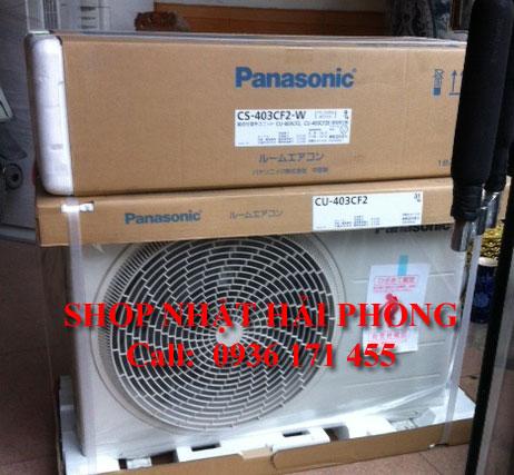 Điều hòa nhật Panasonic CS-403CF2, tại Hải Phòng