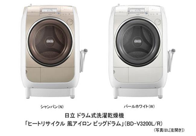 Máy giặt nội địa nhật Hitachi BD-V3200L Hải Phòng