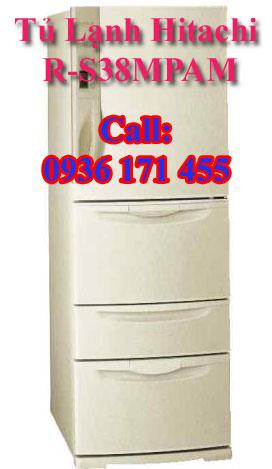 Tủ lạnh nội địa nhật bãi Hitachi R-S38MPAM
