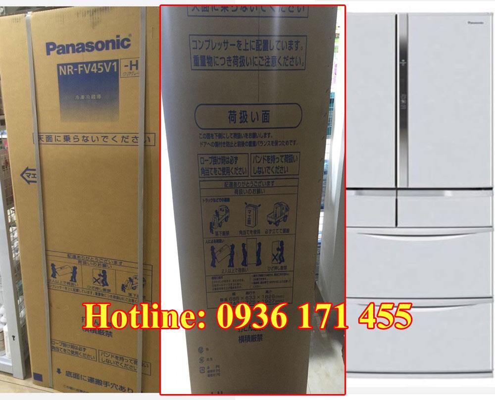 Tủ lạnh nội địa nhật Panasonic NR-FV45V1-H New